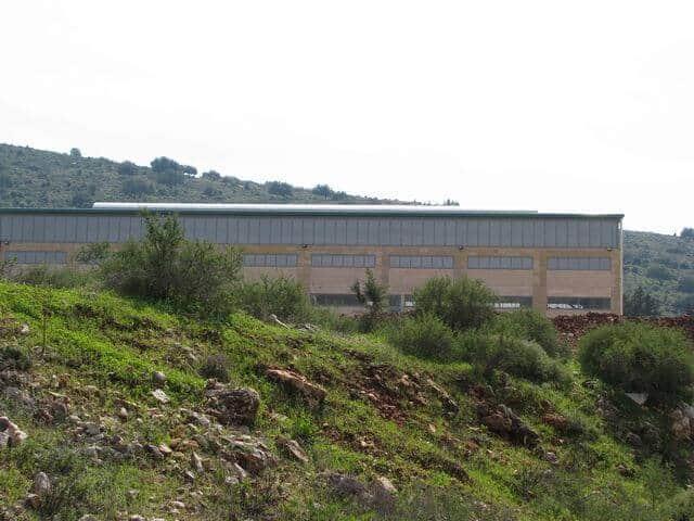 קירוי לוחות פוליגל מפעל טרילידור בכרמיאל